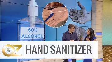 Is Hand Sanitizer or Hand Washing Better at Disinfecting?