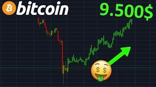 BITCOIN 9500$ GO LA HAUSSE !? btc analyse technique crypto monnaie