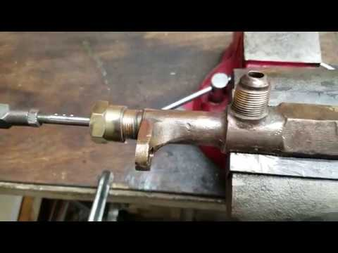 Stanley Steam Car Throttle Repair