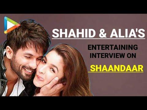 Shaandaar | Shahid Kapoor | Alia Bhatt | Full Interview | Rapid Fire | Quiz