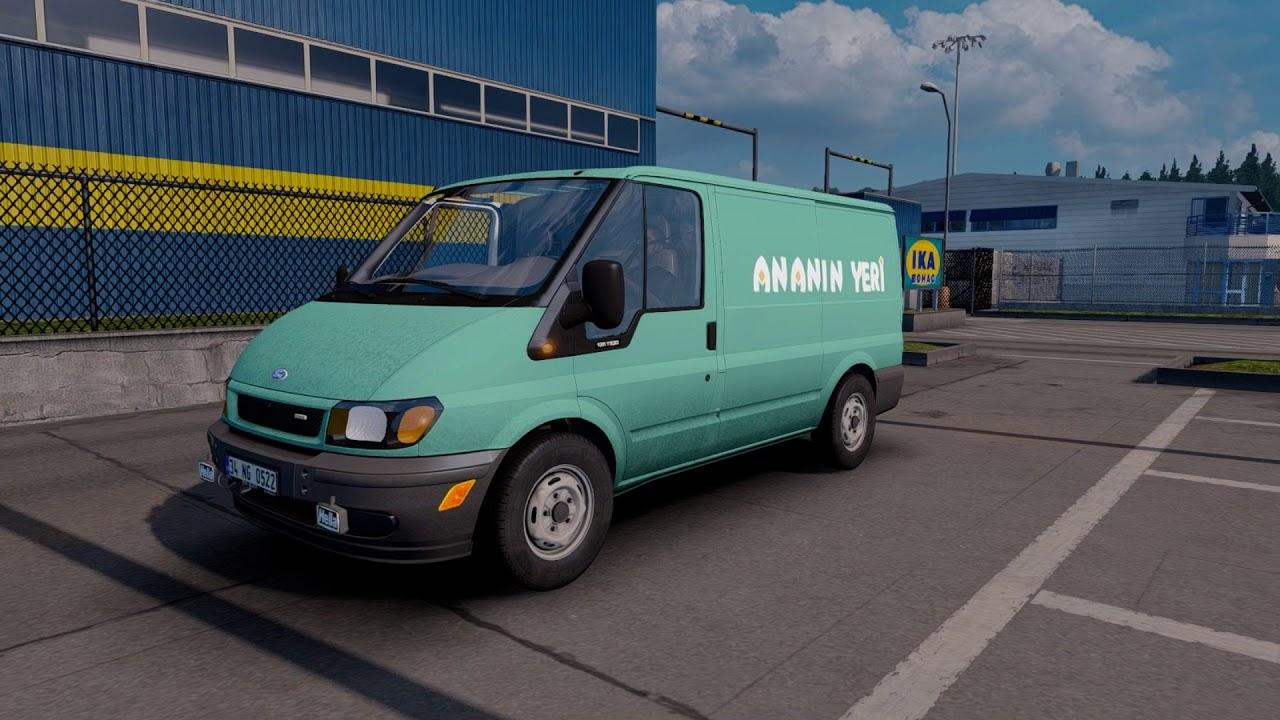 [ETS 2 Mod] Ford Transit MK6 | Euro Truck Simulator 2 (1 31-1 32)