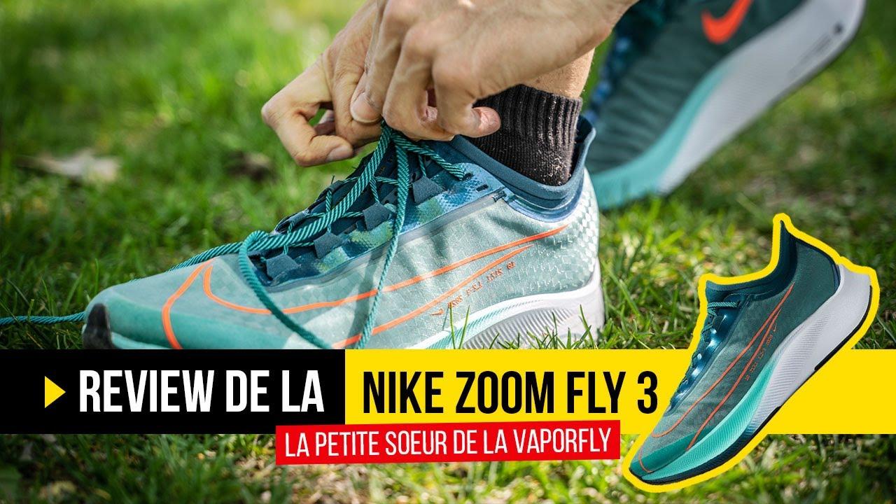 Test Nike Zoom Fly 3 et sa plaque carbone : que vaut la petite soeur des Vaporfly Next% ?
