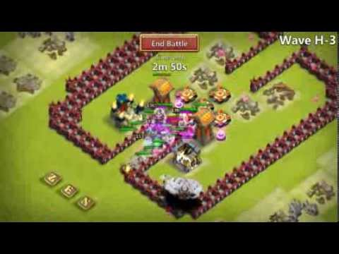 Castle Clash Hbm H4 With Purple Garrison