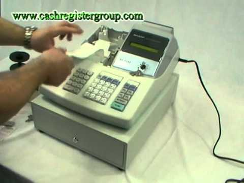 sharp xe a203 cash register installation video watch this after rh youtube com XE-A203 Programming manual book cash register sharp xe-a203