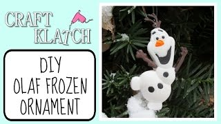 Olaf Frozen Inspired Resin Ornaments Craft Klatch Christmas Series