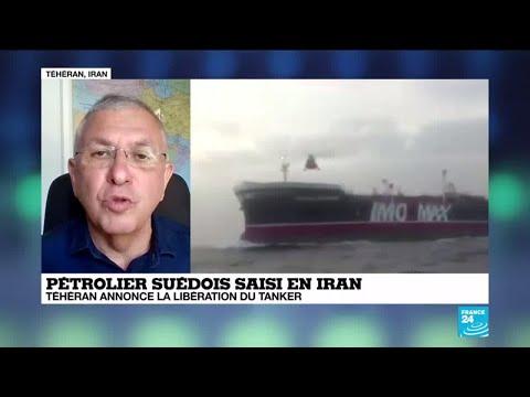 Téhéran annonce la libération du tanker suédois saisi en Iran