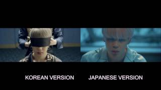 Gambar cover BTS - Blood Sweat and Tears (Korean x Japanese)