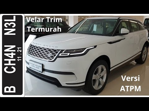 In Depth Tour Range Rover Velar 2.0-250PS [L560] - Indonesia