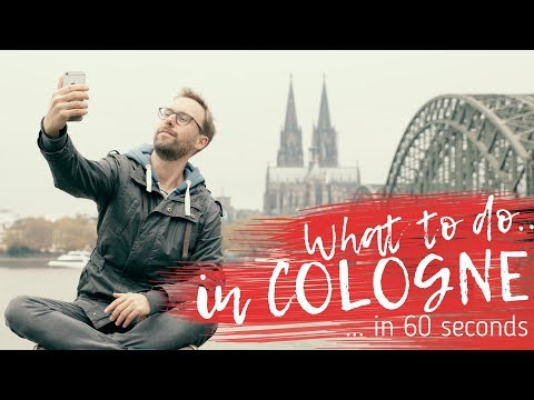 What to do in COLOGNE in 60 seconds