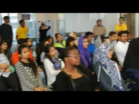 14th Book Talk organized by Amity University Dubai Library