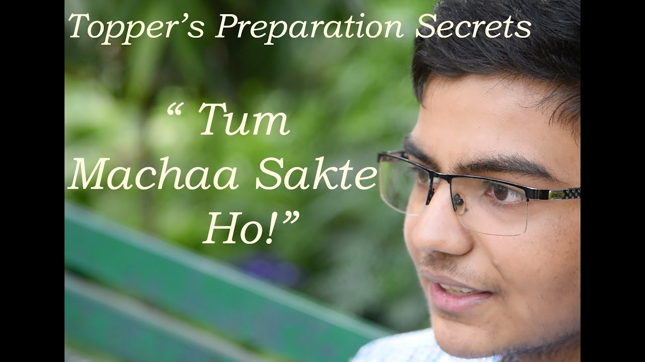 JEE Main Topper- Vasu Jain AIR- 2 shares Secrets tips to crack JEE Main  2018| IIT Campus Life