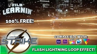 Flash Lightning Loop After Effects Tutorial! | Film Learnin