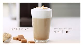 Nespresso Recipe | Iced Caramel Coffee