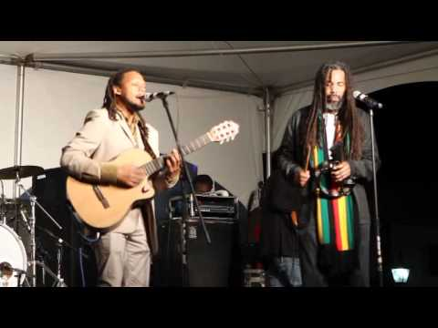 Live Wires and Zion At Hamilton New Years Eve Bermuda December 31 2011