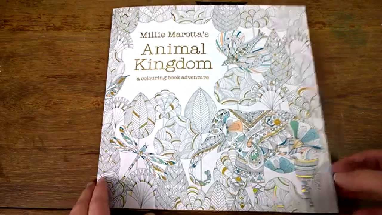 Coloring book animal kingdom - Colouring Book Animal Kingdom Colouring Tips And Walk Through Youtube