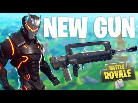 *NEW* Fortnite Gun Update - Burst Assault Rifle Gameplay! -  Fortnite Battle Royale thumbnail
