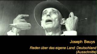 joseph beuys reden ber das eigene land deutschland ausschnitte