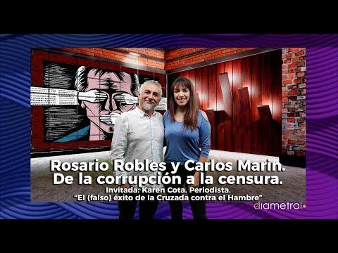 Rosario Robles y Carlos Marín. De la corrupción a la censura