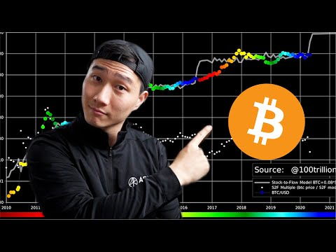 BEST Bitcoin Chart To Read In 2021! - Stock To Flow Model Explained!