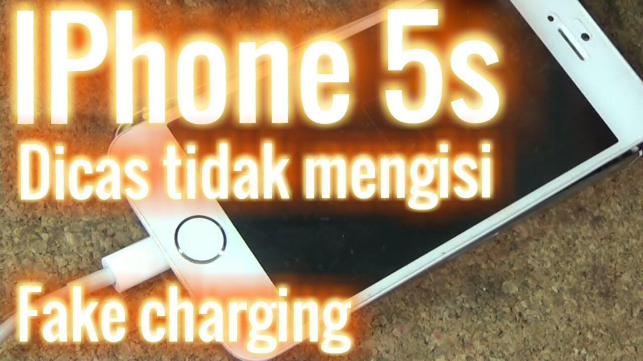 Iphone 5s Dicas Tidak Ngisi Fake Charging Not Charging Youtube