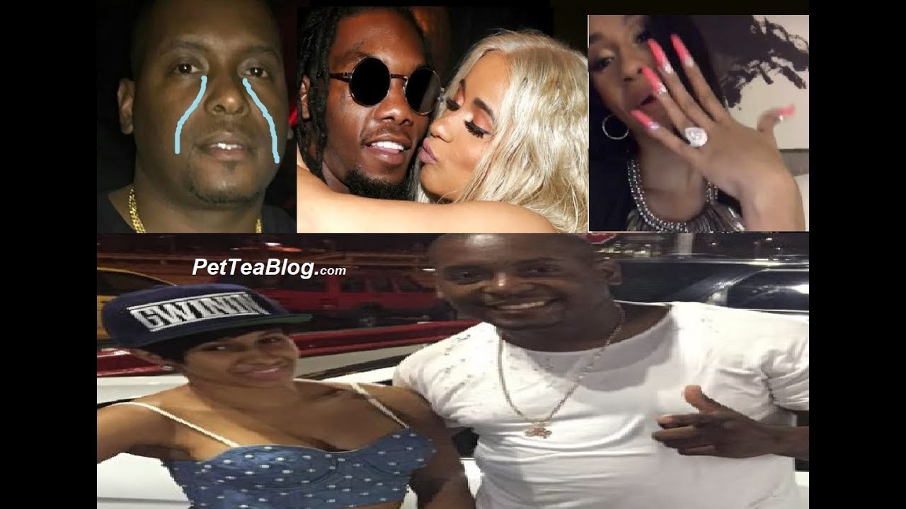Dj Self Reacts To Ex Gf Cardi B  Offset Engagement Is -4923