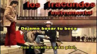 Los Iracundos - Tu me vas a dejar (karaoke)