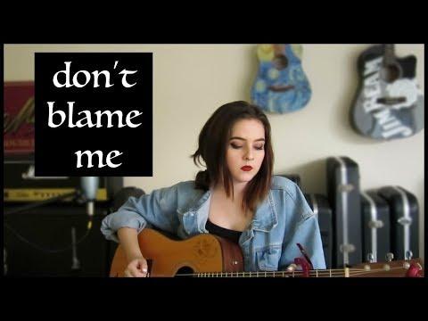 TAYLOR SWIFT - Don't Blame Me | Reputation (Lyrics & Chords)