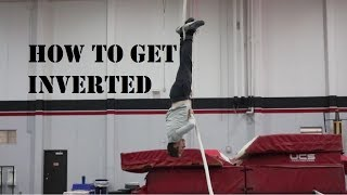 POLE VAULT HOW TO GET UPSIDE DOWN (INVERSION) | DRILLS AND TIPS