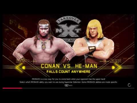Conan VS He Man!! |