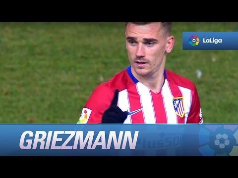 Griezmann diciéndole a Simeone que no...