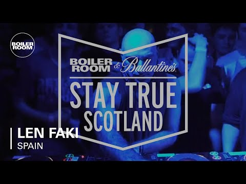 Len Faki Boiler Room & Ballantine's Stay True DJ Set