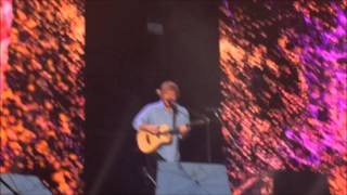 ed sheeran concert melbourne december 2015   bronte