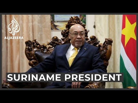 Suriname President Bouterse sentenced to 20 years for killings