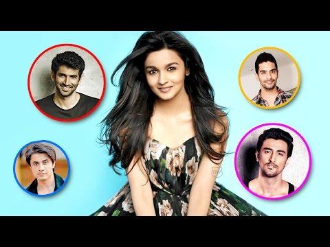 Alia Bhatt To Romance Four Actors   Aditya Roy Kapur   Kunal Kapoor   Ali Zafar   Angad Bedi from YouTube · Duration:  1 minutes 16 seconds