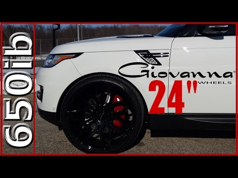 "New Range Rover Sport Wheels! | Giovanna Bogota 24"""