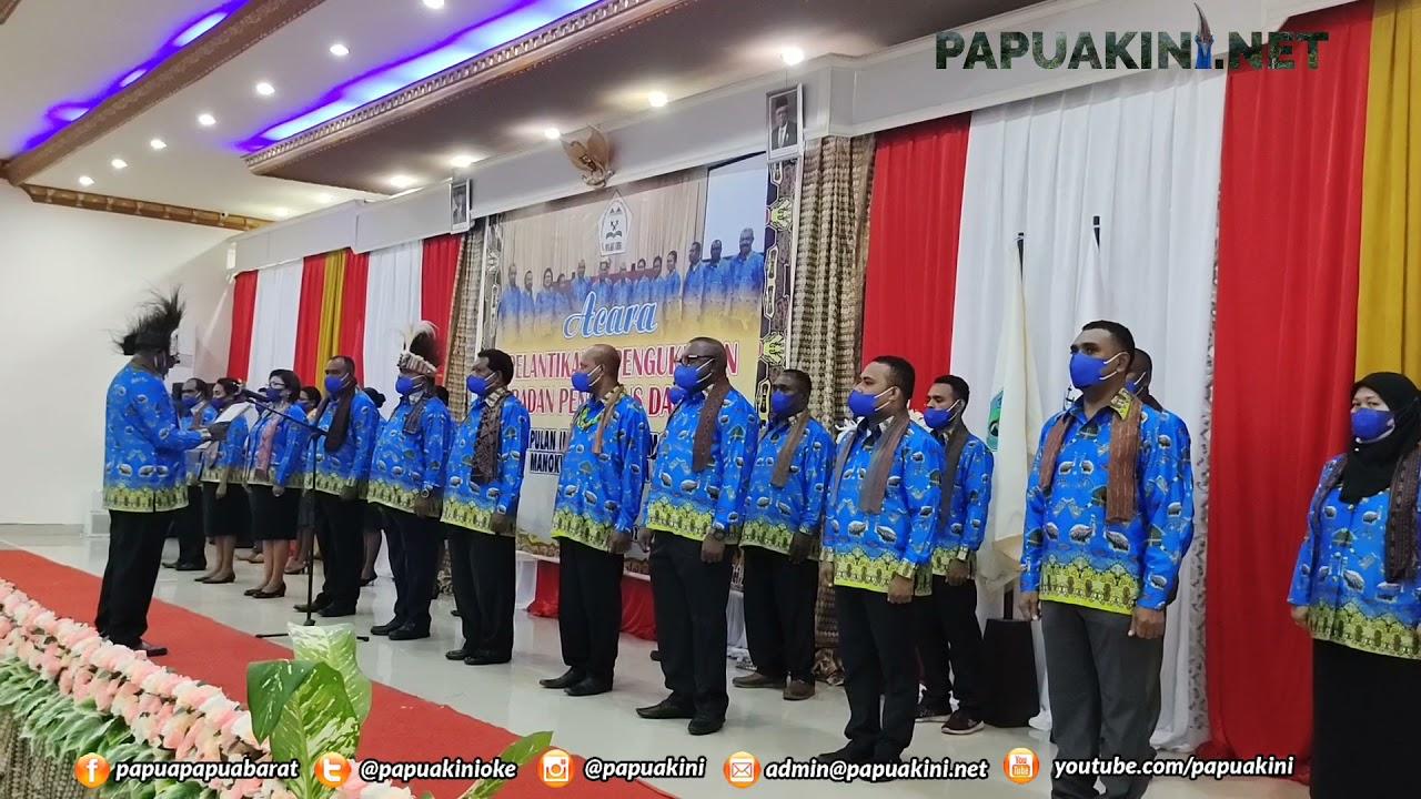 Pelantikan Badan Pengurus Daerah Perkumpulan Intelektual Malamoi Indonesia Manokwari Raya
