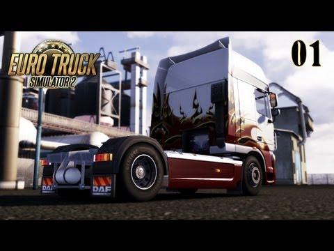 Let's Play Euro Truck Simulator 2 Demo #01 [Deutsch,HD] - Am Anfang War Das Lenkrad