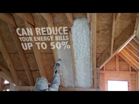 Spray Foam Insulation Benefits by Profoam