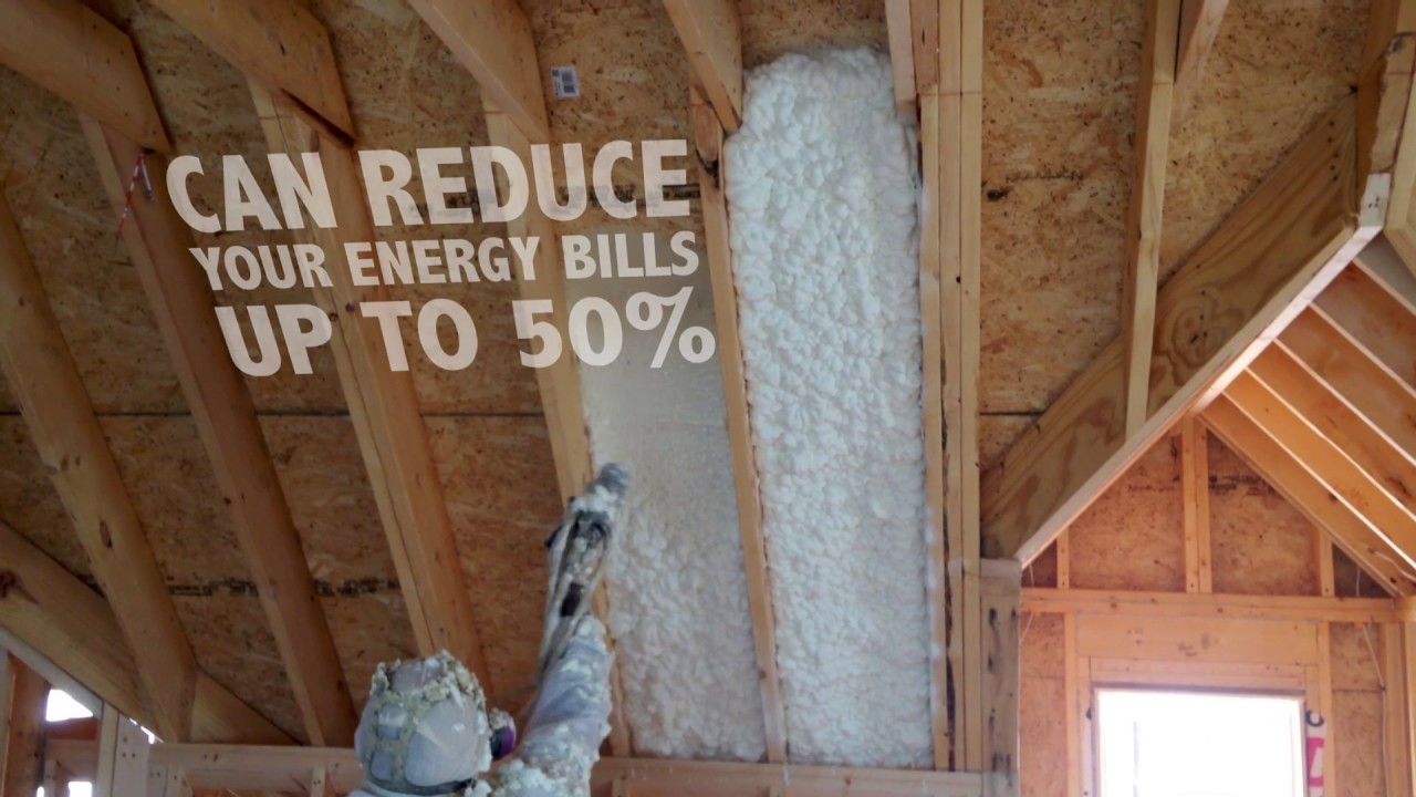 Spray Foam Insulation - Closed Cell and Open Cell Supplier