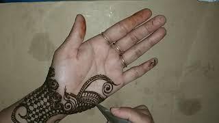 Beautiful fronthand mehndi design for Rakshabandhan 2019 ll Easy henna design