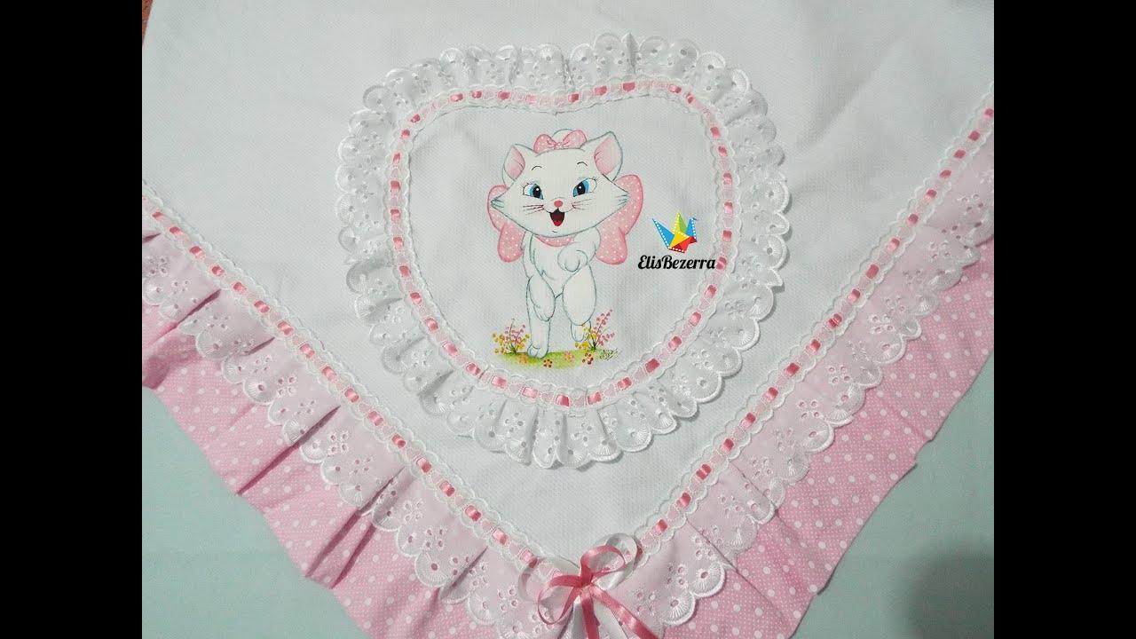 manta para bebê primeiro passo rosa