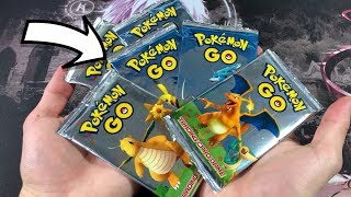NEW RELEASE! POKEMON GO BOOSTER PACKS! (SUPER RARE?)