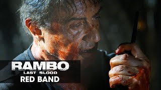 "Rambo: Last Blood (2019 Movie) Official Red Band TV Spot ""Tunnels"" - Sylvester Stallone"