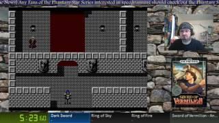 Sword of Vermilion - Any% Speedrun