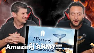 "Download 2020 Global ARMY Song ""7 Reasons"" Official MV -Gracie Ranan ft. ARMY Reaction!!!"