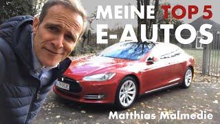 Matthias Malmedie I Meine Top 5 Elektroautos