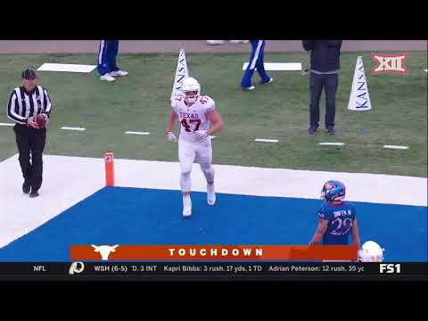Texas vs Kansas Football Highlights