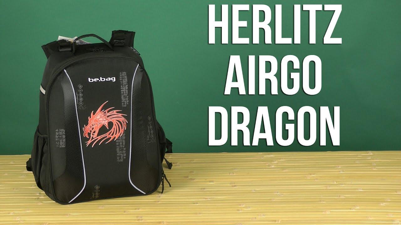 d2580638ca7e Цена, купить Рюкзак Herlitz Airgo Dragon (11438066) в Киеве, Харькове,  Днепропетровске, Одессе, Запорожье, Львове. Рюкзак Herlitz Airgo Dragon  (11438066): ...