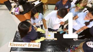 Kleenex® Brand Xperiments -- Yolk Drop (Highland Oaks Middle School)