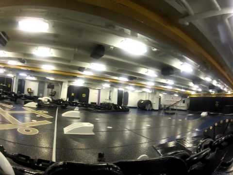 A Tour of the USS Nimitz with the Dadmiral